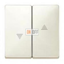 Выключатель управления жалюзи клавишный, 10 А / 250 В~ MTN3715-0000 - MTN411544