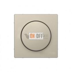 Светорегулятор поворотно-нажимной 20-420 Вт универсальный Merten D-life, сахара MTN5138-0000 - MTN5250-6033