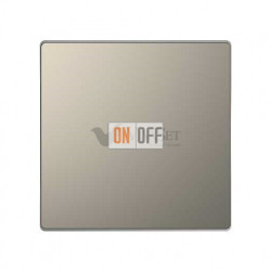 Выключатель одноклавишный перекрестный (с 3-х мест) 10 А / 250 В~ Merten D-life, никель металл MTN3117-0000 - MTN3300-6050