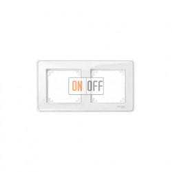 Рамка двойная Merten M-Creative,прозрачная MTN4020-3500