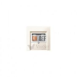 Розетка USB двойная для зарядки, кремовый глянцевый MTN4366-0100 - MTN296044