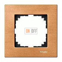 Рамка одинарная Merten M-Elegance, бук MTN4051-3470