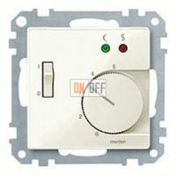Термостат 230 В~ 10А с выносным датчиком для электрического подогрева пола механизм Eberle FRe 525 22 - MTN534944