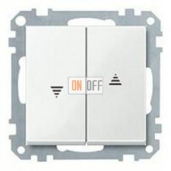 Выключатель управления жалюзи кнопочный, 10 А / 250 В~ MTN3755-0000 - MTN432419
