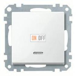 Выключатель одноклавишный с подсветкой, универс. (вкл/выкл с 2-х мест) 10 А / 250 В~ MTN3136-0000 - MTN436019