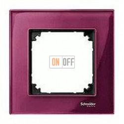 Рамка одинарная  Merten M-Elegance, рубин MTN4010-3206