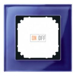 Рамка одинарная Merten M-Elegance, сапфир MTN4010-3278