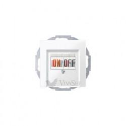 Аудиорозетка двойная для колонок, белый глянцевый MTN467019 - MTN296019