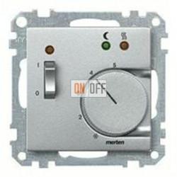 Термостат 230 В~ 10А с выносным датчиком для электрического подогрева пола механизм Eberle FRe 525 22 - MTN535860