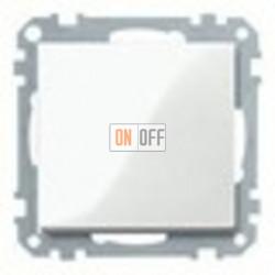 Выключатель одноклавишный 10 А / 250 В~, цвет белый глянцевый MTN3111-0000 - MTN432119