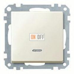 Выключатель одноклавишный с подсветкой, универс. (вкл/выкл с 2-х мест) 10 А / 250 В~ MTN3136-0000 - MTN435944