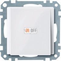Вывод кабеля Merten белый глянцевый MTN296819