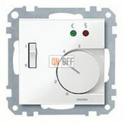 Термостат 230 В~ 10А с выносным датчиком для электрического подогрева пола механизм Eberle FRe 525 22 - MTN534919