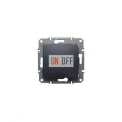 Одноклавишный перекрестный переключатель (из 3-х мест)  Schneider Sedna, графит SDN0500170