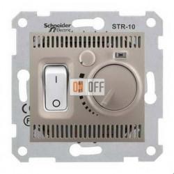 Терморегулятор  для теплого пола Schneider Sedna, титан SDN6000368