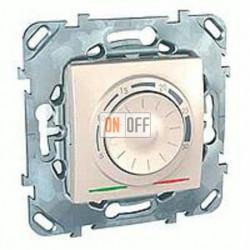 Термостат 230 В~ 10А с выносным датчиком для электрического подогрева пола Schneider Unica кремовый MGU5.503.25ZD