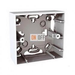 Коробка одинарная для накладного монтажа Schneider Unica белый MGU8.002.18