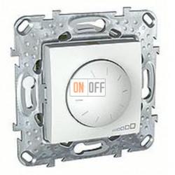 Светорегулятор поворотный 40-1000 Вт. для ламп накаливания и галог.220В, трехпроводное подключение Schneider Unica белый MGU5.512.18ZD