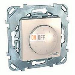 Светорегулятор поворотный 40-400 Вт. для ламп накаливания и галог.220В Schneider Unica кремовый MGU5.511.25ZD