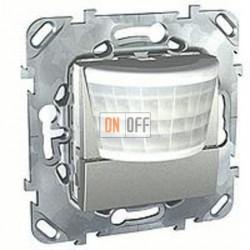 Автоматический выключатель 230 В~ , 40-300Вт, двухпроводное подключение, высота монтажа 1,1м Schneider Unica алюминий MGU5.524.30ZD