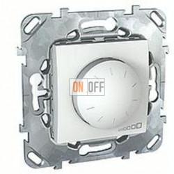 Светорегулятор поворотный 40-400 Вт. для ламп накаливания и галог.220В  Schneider Unica белый MGU5.511.18ZD