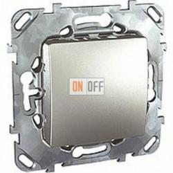 Заглушка с опорной пластиной Schneider Unica алюминий MGU5.866.30ZD