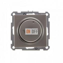 Светорегулятор поворотно-нажимной 600 Вт, 230 В для галог. ламп и накаливан., Schneider W59 шампань SR-5S2-4-86