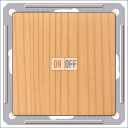 Выключатель одноклавишный перекрестный (вкл/выкл с 3-х мест) 16 А 250 В, Schneider W59 сосна VS716-158-7-86