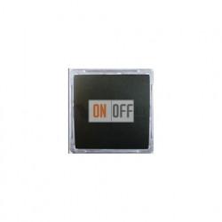 Выключатель одноклавишный перекрестный (вкл/выкл с 3-х мест) 16 А 250 В, Schneider W59 черный бархат VS716-158-6-86