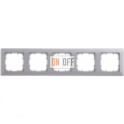 Delta line Рамка 5-я (алюминий) 5TG25553