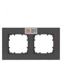 Delta miro Рамка 2-я (черный-металлик) 5TG11122