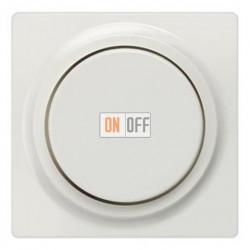 Светорегулятор поворотный кнопочный 60-600 Вт. (белый) 5TC8900 - 5TC8257