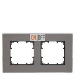 Delta Miro металл Рамка 2-я (графит) 5TG11222