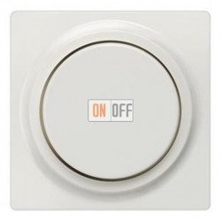 Светорегулятор поворотный 60-400 Вт. (белый) 5TC8900 - 5TC8256