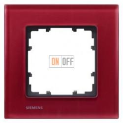 Delta Miro Рамка 1-я (стекло - красное) 5TG12013