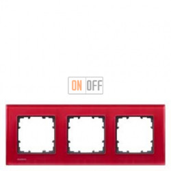 Delta Miro Рамка 3-я (стекло - красное) 5TG12033