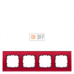 Delta Miro Рамка 4-я (стекло - красное) 5TG12043