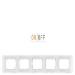 Delta Miro Рамка 5-я (стекло - белое) 5TG12051