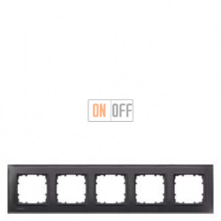 Delta Miro Рамка 5-я (стекло - черное) 5TG12052