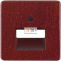 Розетка компьютерная одинарная RJ45 6-й кат. Delta natur (красный клен) EPUAE8UPOK6 - 5TG1632