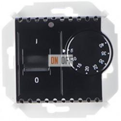 Терморегулятор для теплого пола с датчиком, 16А, 230В, 3600Вт, (чёрный) 1591775-032