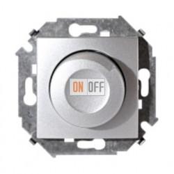 Светорегулятор поворотно-нажимной, переключатель, 500Вт 230В (алюминий) 1591311-033