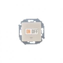 Одноклавишный выключатель Simon 15 с подсветкой, шампань 1591104-034