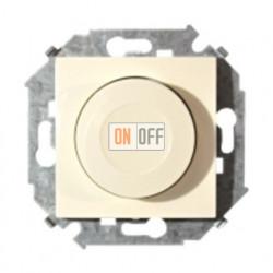 Светорегулятор поворотно-нажимной, переключатель, 500Вт 230В (слоновая кость) 1591311-031
