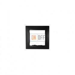 Рамка одинарная Simon 15, графит 1500610-038