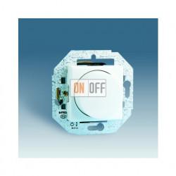 Светорегулятор поворотно-нажимной Simon от 40 до 500 Вт (Слоновая кость) 27313-35