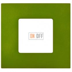 Рамка-декор 1 постовая Артик Зеленый 2700617-084