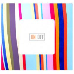 Рамка-декор 1 постовая Многоцветный Поток 2700617-801