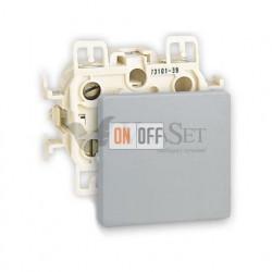Выключатель одноклавишный перекрестный (вкл/выкл с 3-х мест) 10 А 250 В~ Simon 73 Loft, алюминий 73251-39 - 73010-63