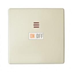 Одноклавишный перекрестный выключатель (с 3-х мест) c подсветкой Simon 82 (слоновая кость) 75254-39 - 82011-31
